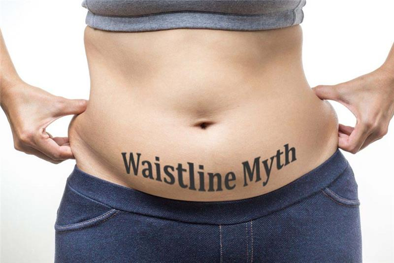 Waistline / Muffin Top Myth